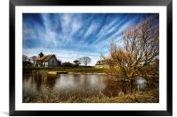 Harty Church Isle of Sheppey Kent, Framed Mounted Print