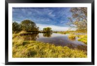 The Look Of Autumn, Framed Mounted Print