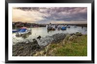 Paddys Hole Teesmouth, Framed Mounted Print