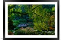 Enchanted Garden, Framed Mounted Print
