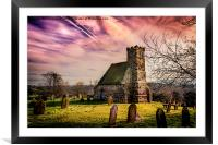 Upleatham Church, Framed Mounted Print