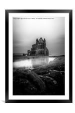 Whitby Abbey, Framed Mounted Print
