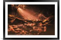Dreams of Autumn, Framed Mounted Print