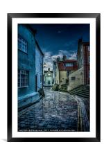 No Stopping, Framed Mounted Print