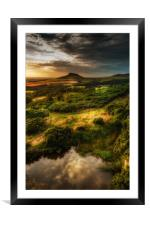 Natures Mirror , Framed Mounted Print