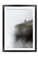 Edge of the World, Framed Mounted Print