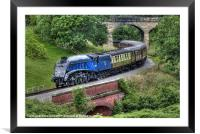 60007 Sir Nigel Gresley, Framed Mounted Print