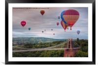 02 Bristol Balloon Fiesta, Framed Mounted Print