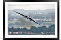 Avro Vulcan - Dawlish Air Show 2015  #2, Framed Mounted Print