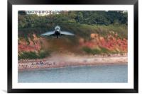 Eurofighter Typhoon - Fast and Low, Framed Mounted Print