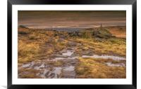 Stoodley Pike and the Pennine Way, Framed Mounted Print