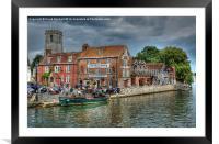 Wareham Quay, Dorset, Framed Mounted Print
