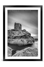 Lady's Tower Portrait, Framed Mounted Print