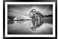 The Wheel, Framed Mounted Print
