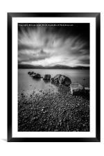 Milarrochy Bay, Framed Mounted Print