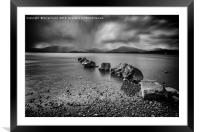 The Loch, Framed Mounted Print