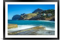 After the storm, Framed Mounted Print