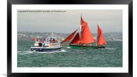 A Days Sailing One, Framed Mounted Print