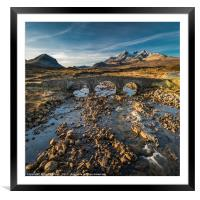 Sligachan No3, Framed Mounted Print
