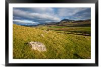 Stepping stones for giants, Framed Mounted Print