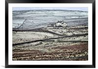 Teesdale in Winter, Framed Mounted Print