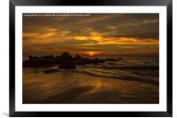 Thai Sunset, Framed Mounted Print