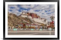 Potala Palace in Lhasa, Framed Mounted Print