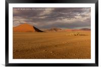 Sossusvlie Sand Dunes, Namib Desert, Framed Mounted Print