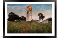 Swansea cenotaph, Framed Mounted Print