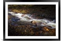The Neath river, Framed Mounted Print