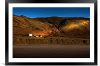 The Old Rectory at Rhossili, Framed Mounted Print