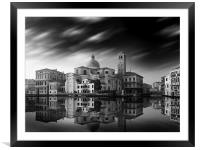 Venice Old Town Italy, Framed Mounted Print