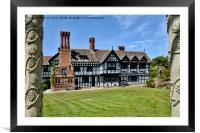 Hillbark Hotel, Royden park, Frankby, Wirral UK, Framed Mounted Print