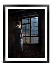 Trapped, Framed Mounted Print