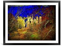 Cambusnethan Priory , a Haunted Look, Framed Mounted Print