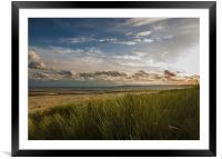 Crymlyn Burrows Beach, Framed Mounted Print