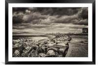 Grey Day, Framed Mounted Print