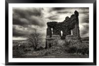 The Lookout, Framed Mounted Print