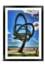 Twisted Journey, Framed Mounted Print