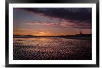 Kaleidoscopic Sunset, Framed Mounted Print