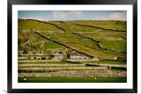 Welsh Farm, Framed Mounted Print