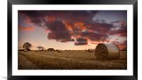 Post Sunset, Framed Mounted Print