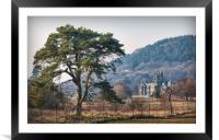Margam Castle, Framed Mounted Print