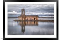 Floating Church, Framed Mounted Print
