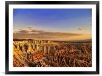 Bryce Canyon Sunrise, Framed Mounted Print