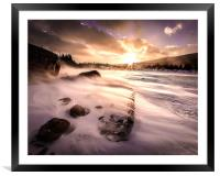 Windy Morning, Framed Mounted Print