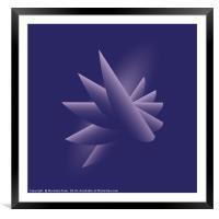 Violet wings, Framed Mounted Print