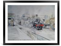 Great Central Steam, Framed Mounted Print