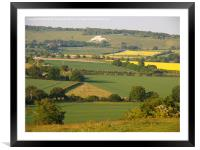 Ivinghoe View to Whipsnade, Framed Mounted Print
