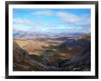 Beautiful Highlands !, Framed Mounted Print